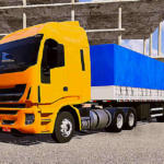 Iveco Hi Way - Skin Template