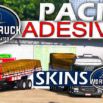 World Truck Driving Simulator  - Pack de Adesivos