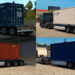 Skins Contêiners – PACK 02