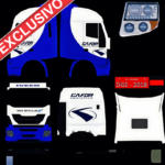 Iveco High-way Gafor Blue Light
