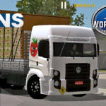 Skins VW Constellaton Truck (Verdureiro) World Truck Driving Simulator (DOWNLOAD)