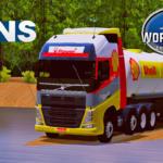 Conjunto de Skins Volvo FH + Carreta Bitrem Tanque World Truck Driving Simulator