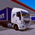 Skin Iveco hi way world truck driving Simulator