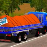 Scania P310 Azul Qualificada (Caminhão+Carroceria)