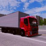 Skin Volvo Vm 4 Eixo (Caminhão + Baú)