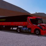 Scania 113H Vermelha + Granel Guerra