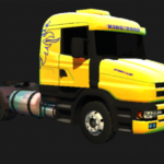 SCANIA T124 KING OF THE ROAD - KIVEL SKINZ