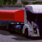 Carreta TEXAGO para Tanque de Combustível