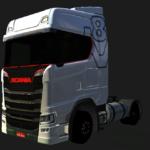 SCANIA S730 V8 BRANCO - TOP!