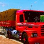 Conjunto de Skins Scania 113 Skins Scania 113VERMELHA Suja de Lama