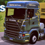 Skins Scania SCANIA R620 GRIFFIN EDITION