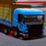 Skin Scania P310 - Azul BB (EXCLUSIVA)