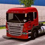 Skins Scania P310 Vermelha (QUALIFICADO)