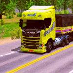 Skins Scania S + Graneleira 3 Eixos Spolier 77