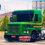 """Skins Scania 113 Verde Com Faixas Originas Laranja """"QUALIFICADA"""""""