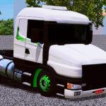 Scania 124G com Detalhes em Verde (CONJUNTO EXCLUSIVO)
