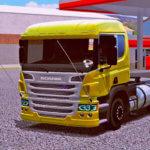 """Skins Scania P310 Amarela """"QUALIFICADA"""""""