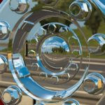 Roda de Alumínio (Cromada) - WTDS