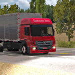 Skins Mercedes Benz Atego Bau (QUALIFICADO)