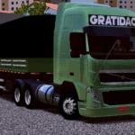 Volvo FH + Bitrem Verde Metálico