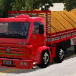 Skin VW Titan Vermelho Qualificado