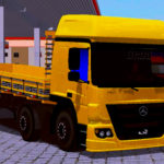 Skin MB Atego Amarelo Qualificado – EXCLUSIVO