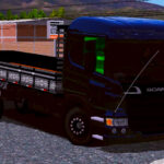 Skin SCANIA P310 Black Qualificado (Exclusivo)