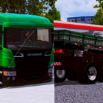 Skin SCANIA P310 Verde - Qualificada e EXCLUSIVA