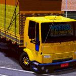 Skin FORD CARGO Amarelo com Vidro Espelhado (EXCLUSIVO)