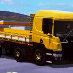 Scania P310 Amarela e Branca Qualificada (EXCLUSIVO)