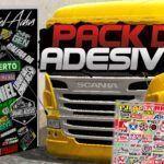 PACK DE ADESIVOS PARA O WTDS - V6