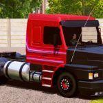 Scania 113H Vermelho - CARA Preta (EXCLUSIVO)