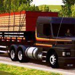 Scania 113H Preto com Faixa Laranja Qualificado