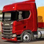 Skins Scania S Vermelha com Carreta Graneleira