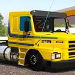 Skin SCANIA 112H Amarelo – Exclusivo e QUALIFICADO