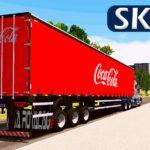 Skin Baú Sider - Coca Cola