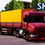 Skin Scania T114 Millenium com Bitrem - CONJUNTO