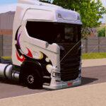 Skin Scania S Branco Grafitado  – Exclusivo e Qualificado