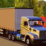 Skin VOLVO EDC com Carreta 2 EIXOS – Exclusivo e QUALIFICADO