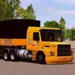 Skin Scania 113h Amarela rei da Estrada no Bitrem  – CONJUNTO