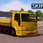 Skin Ford Cargo Amarelo  – Exclusivo e QUALIFICADO