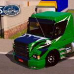 Skin Scania 113h Verde Grafitado e Qualificado – CONJUNTO