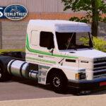 Skin Scania 113h Branca com Faixa Verde  – Exclusivo e QUALIFICADO