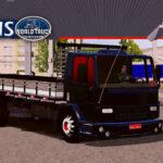Skin Ford Cargo Preto com Insufilm Vermelho  – Exclusivo e Qualificado