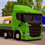 Skin Scania p320 Verde com Detalhes pretos  – Exclusivo e Qualificado